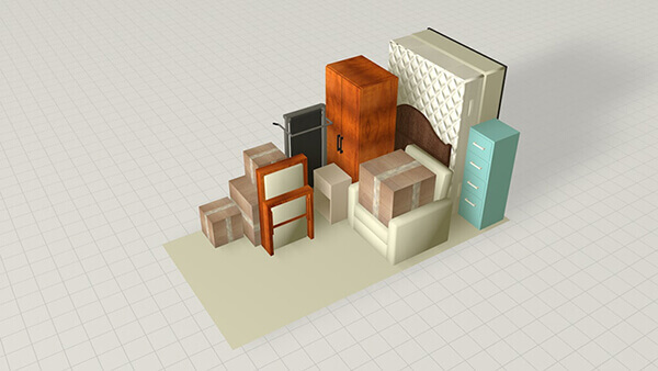6 x 6 INTERIOR SELF STORAGE