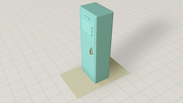 5 x 5  Interior Access Locker