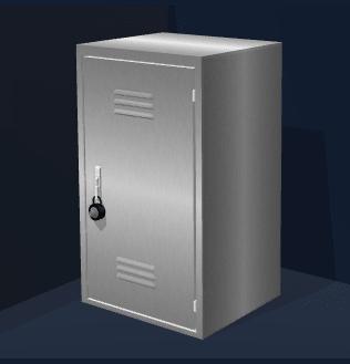 2 x 2 Locker