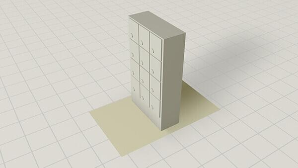 0.5 x 0.5 Interior   Mailbox